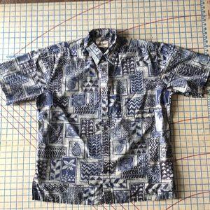 Cooke Street Honolulu Hawaiian Shirt L